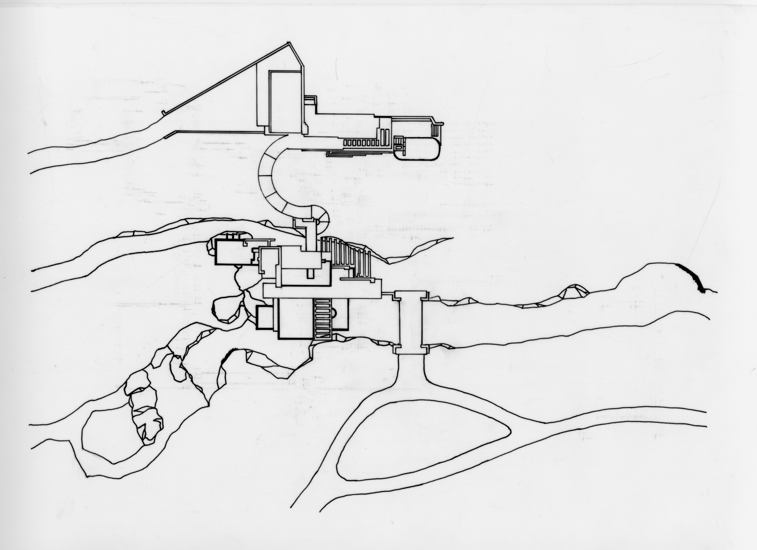 Res_Falling Water Aerial Pen