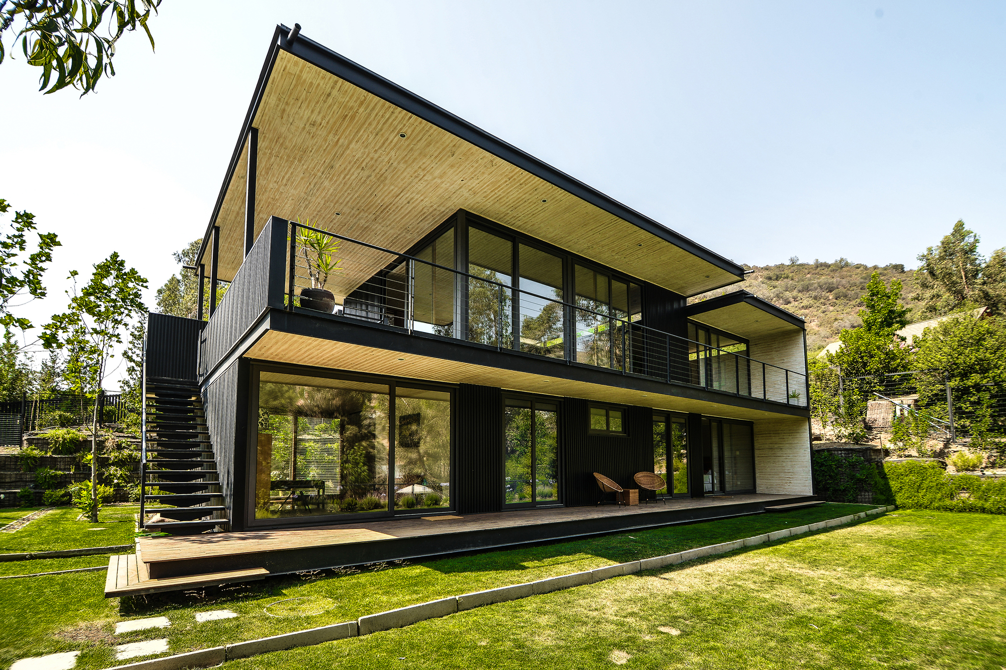 Planos de casas for Modern steel house