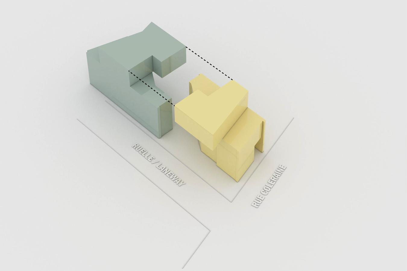 Diagrama 2 de Casa Coleraine de NatureHumaine
