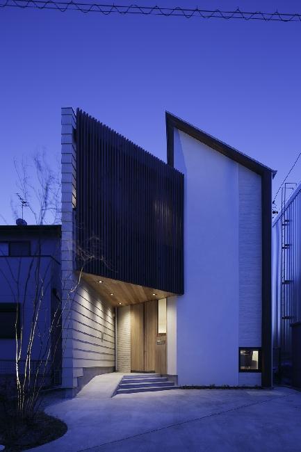 45 grados for Casas contemporaneas de dos pisos