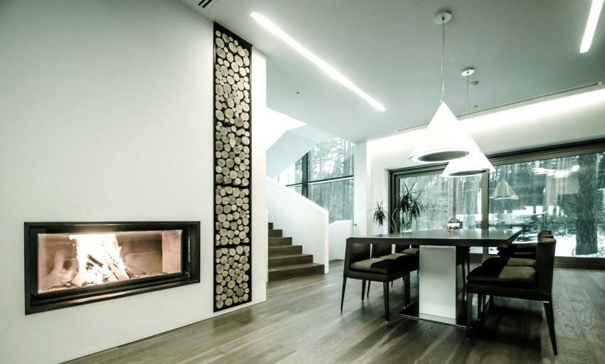 Casa Paralela Rectangular de Devyni Architektai