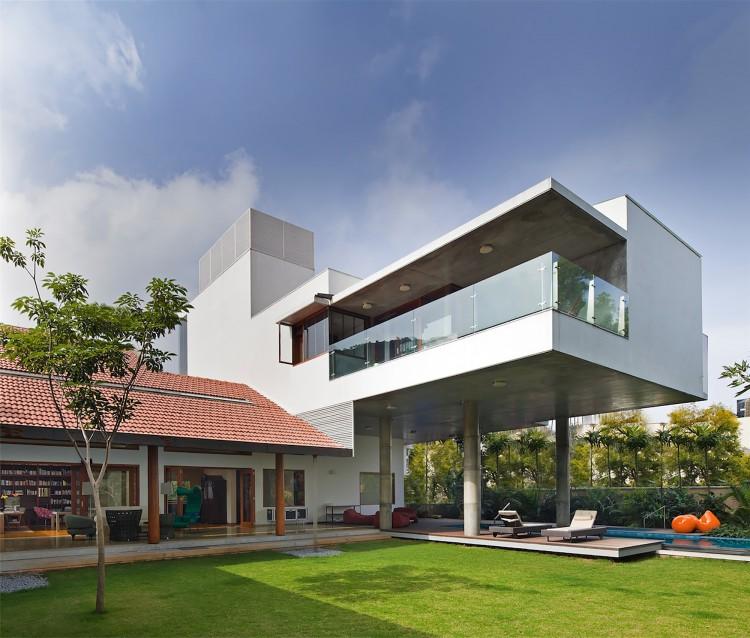 4 recamaras House exterior design photo library