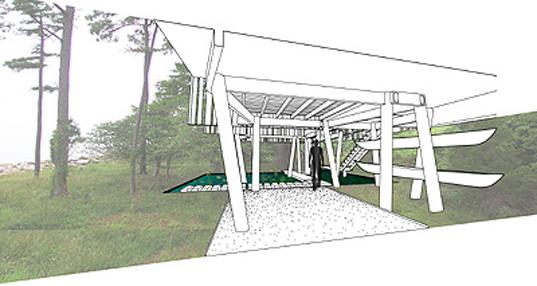 Plano de Casa Loblolly de Kieran Tiberlake