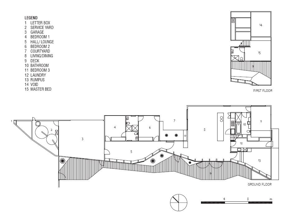 Plano de Casa Letterbox de Mcbride Charles