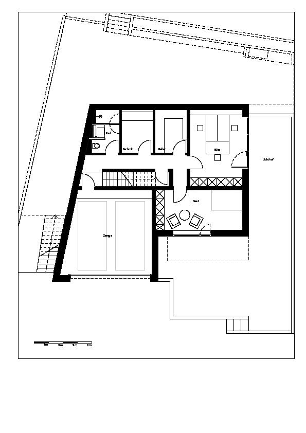 Plano de Ippolito Fleitz Group de Haus F