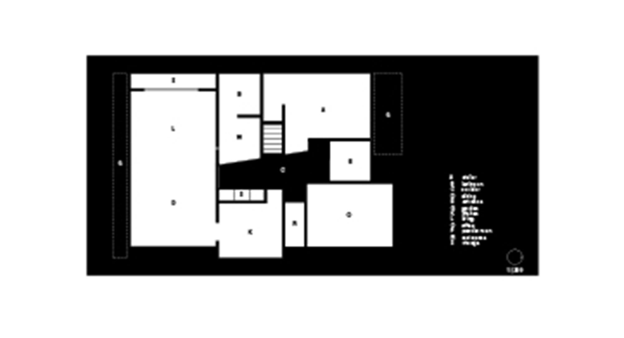 Planos de House for an installation