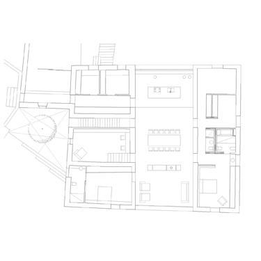 Planta de Casa Granero de Arnau Estudi d'Arquitectura