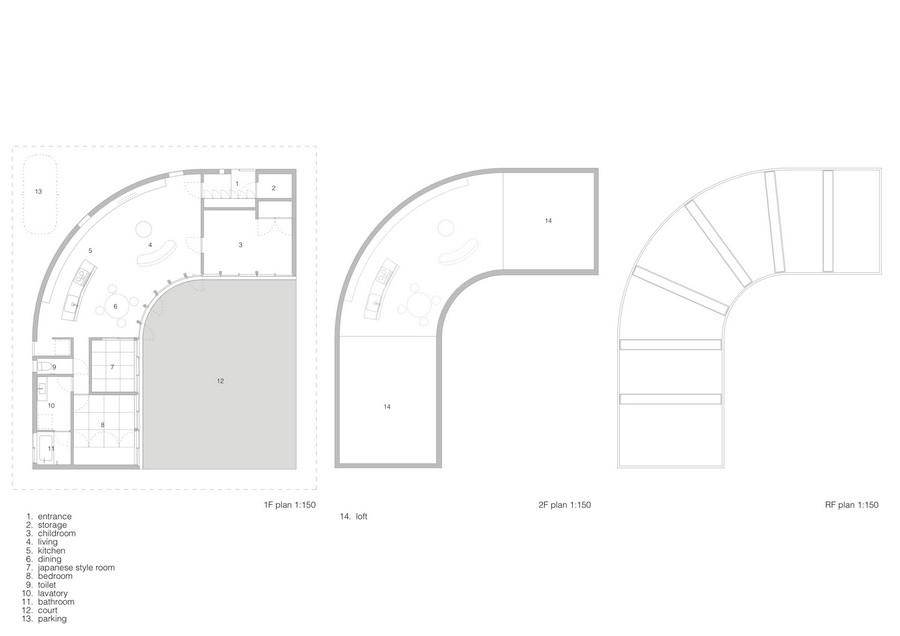 Planos de Plantas de Light Valley de Future Studio