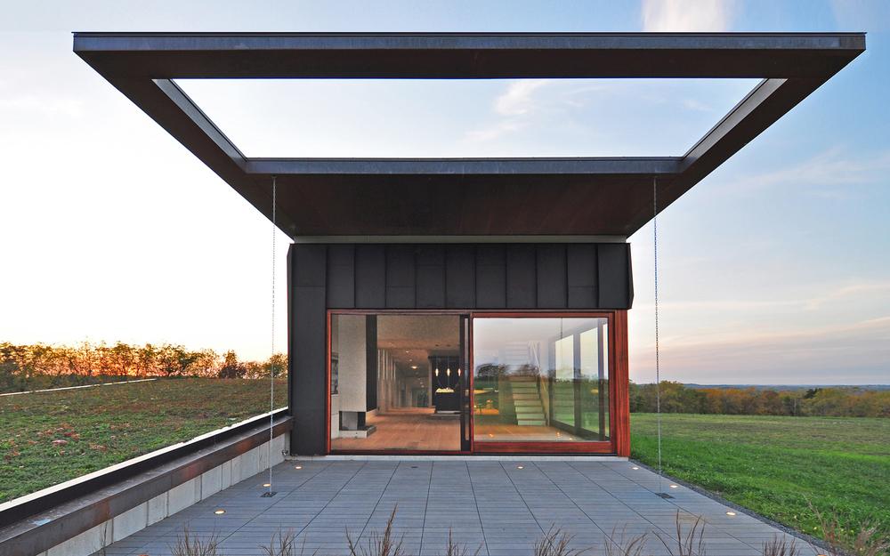 Topo House de Johnsen Schmaling Architects
