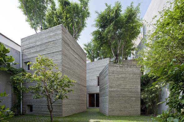 Casa para árboles de Vo Trong Nghia Architects