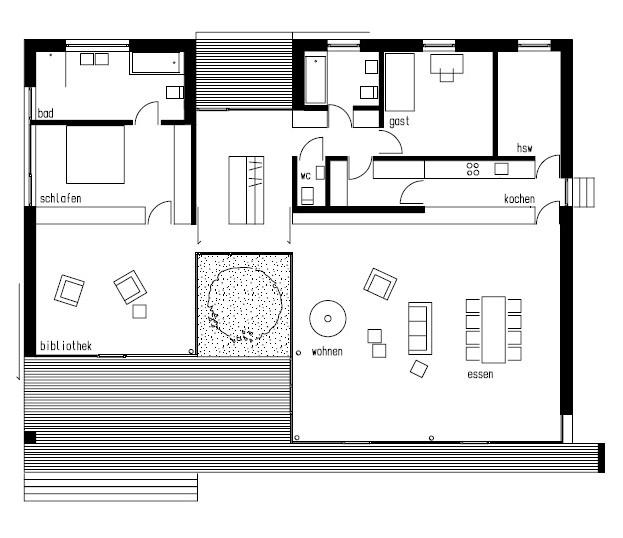 Planos de Casa Lindau de k_m architektur