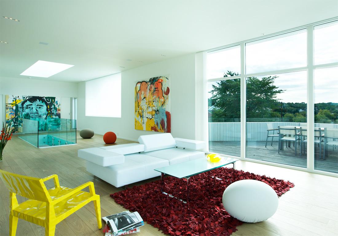 Villa G de Saunders Architecture