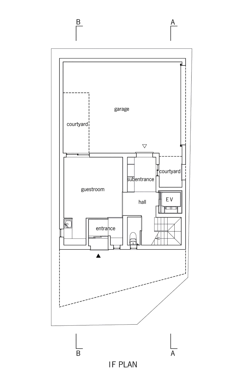 Primer Nivel de Casa en Kitaoji de Torafu Architects