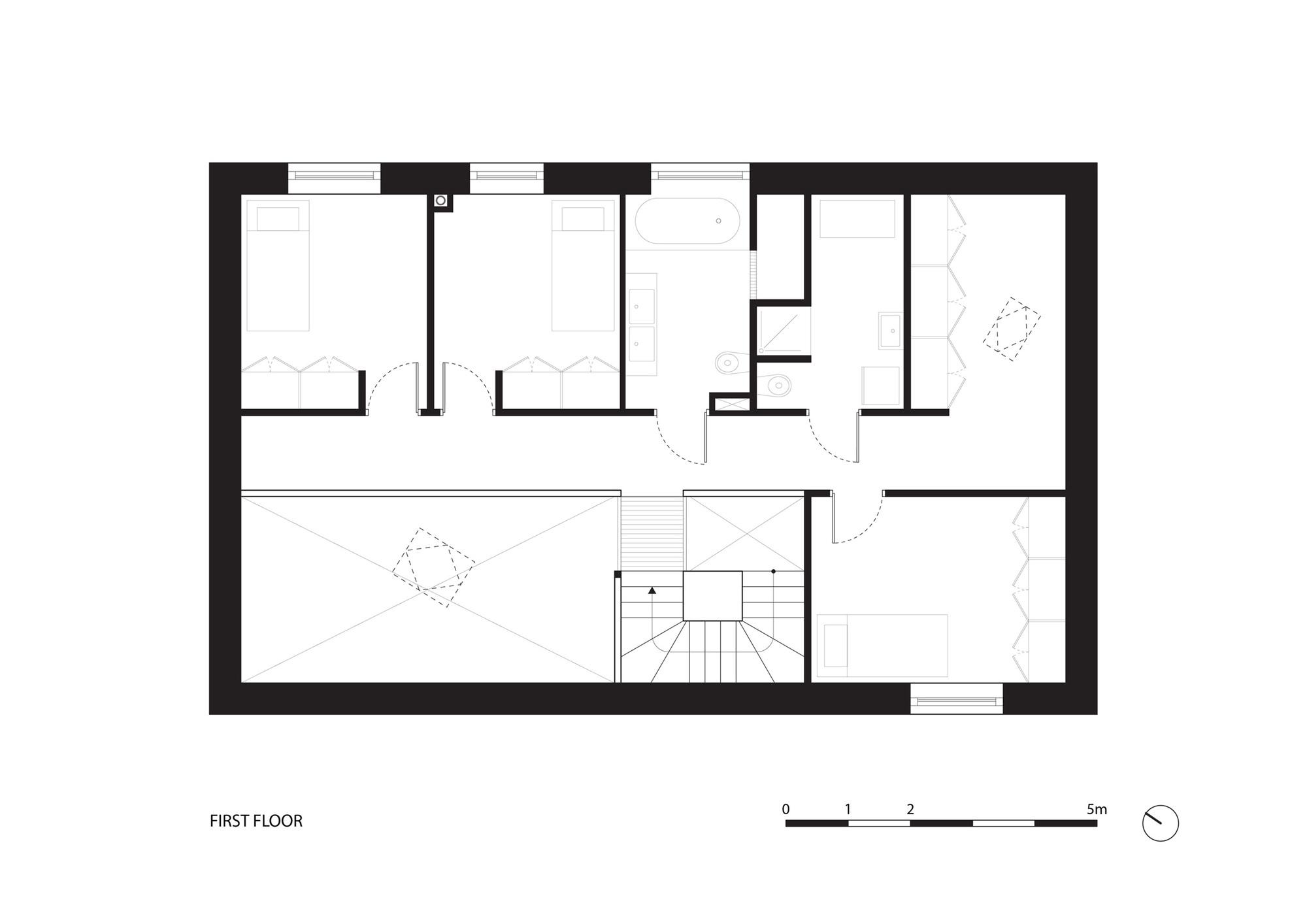 Plano de Casa 34.25° de Bartek Arendt