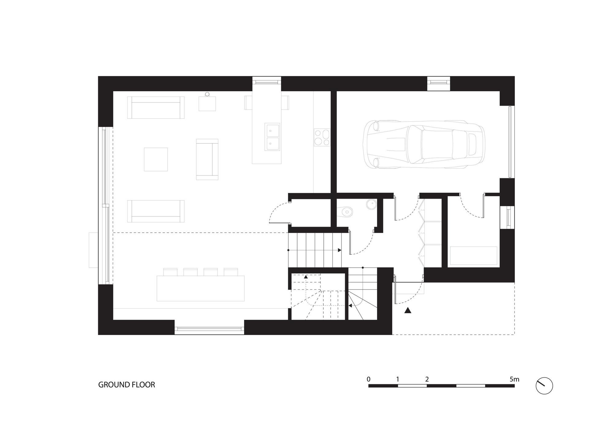 Planos de Casa 34.25° de Bartek Arendt