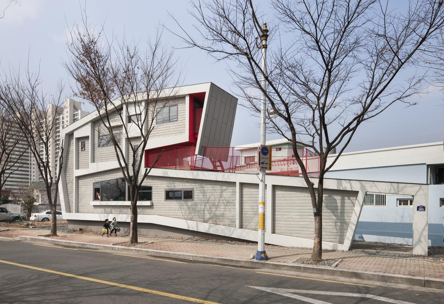 Casa Enrollada de Moon Hoon