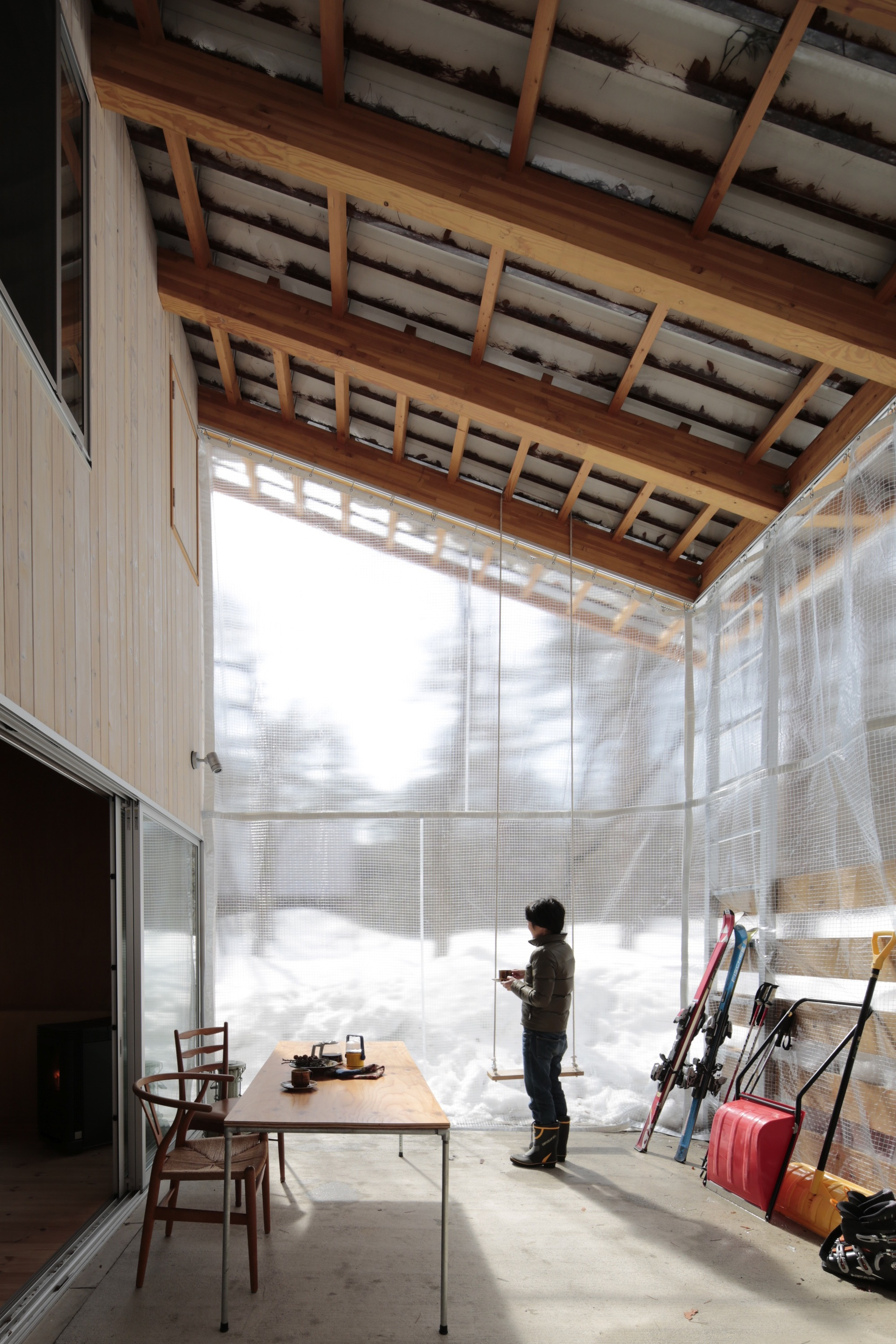 Villa Hakuba de Naka Architects