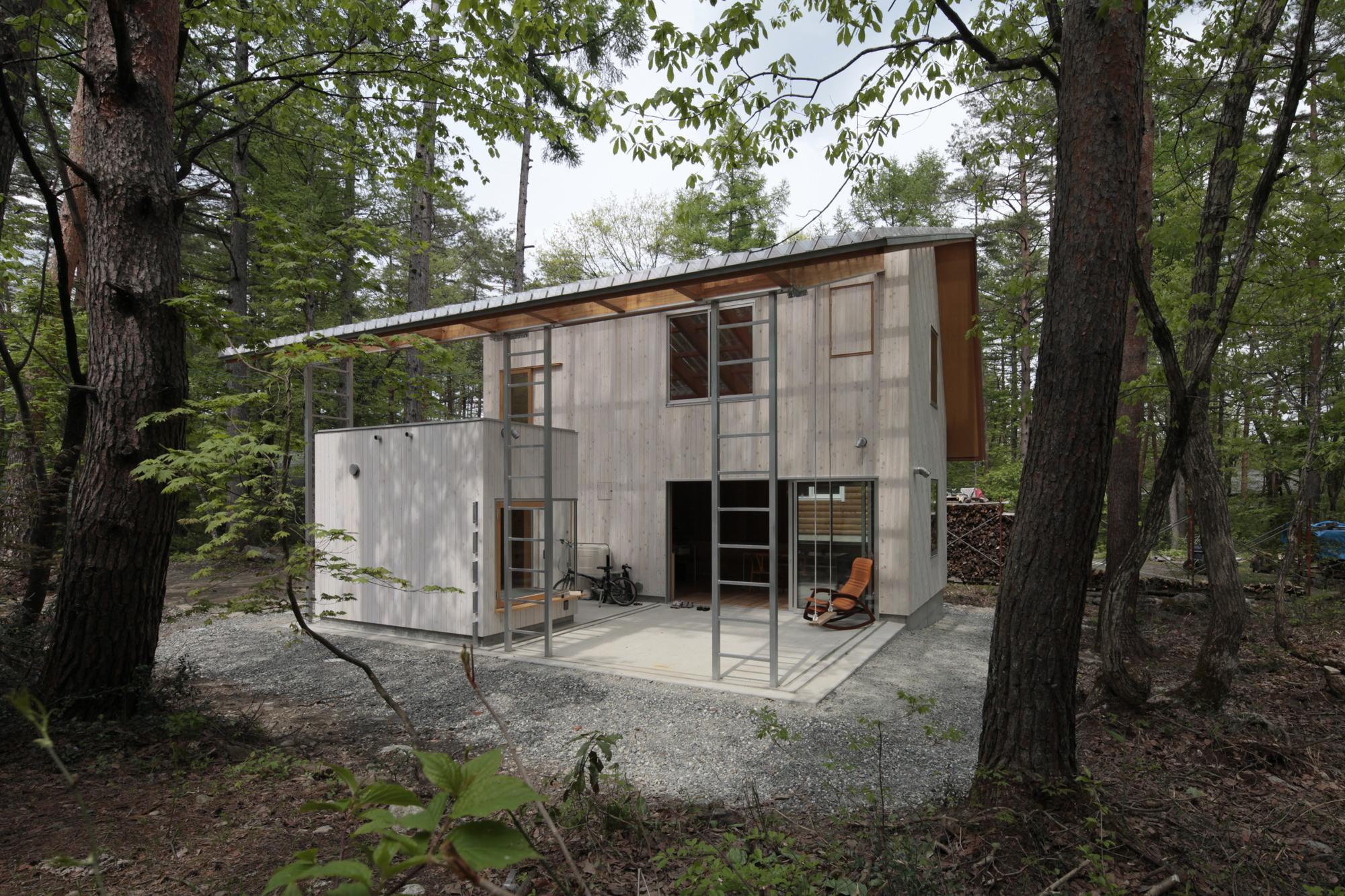 Villa Hakuba de Naka Architects