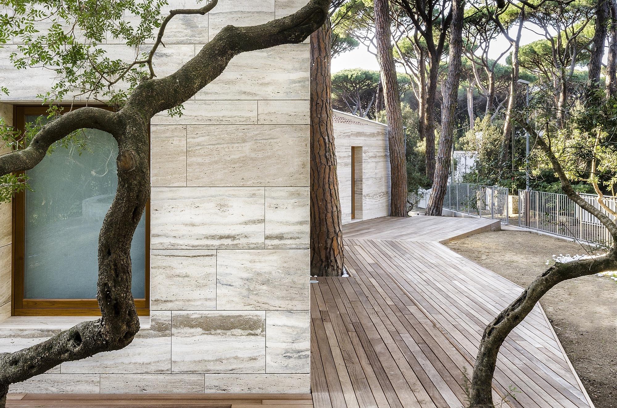 Casa in una Pineta - Massimo Fiorido Associati