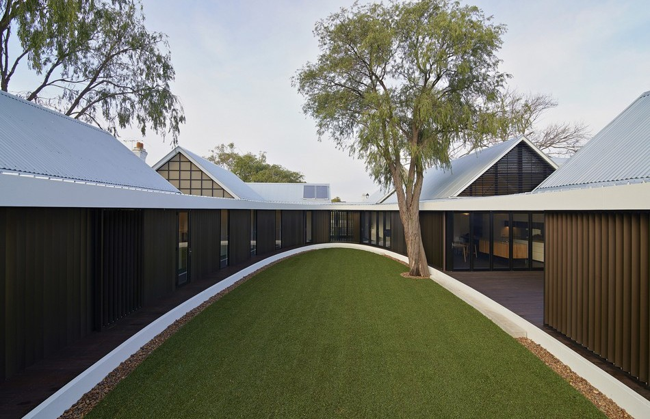 Subiaco Oval Courtyard de Luigi Roselli Architects