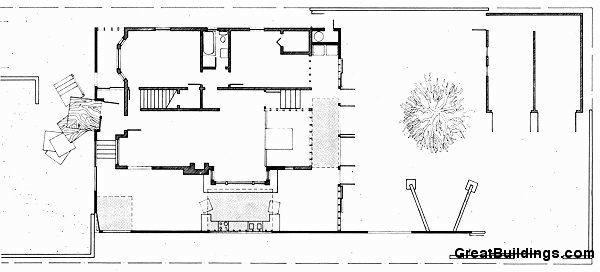 Planos de Primer Nivel Gehry de Frank Gehry